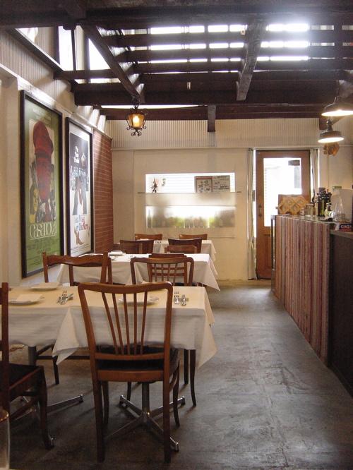 京都のおしゃれなイタリア料理店「omaggio」(オマッジオ) 日々是パン作り〜ヒビコレパンヅクリ