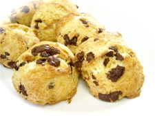 Scone_chocolate
